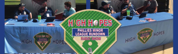 High Hopes: Phillies Minor League Rundown with Clearwater Threshers 1B/3B Madison Stokes