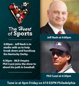 Recent Shows - The Heart Of Sports