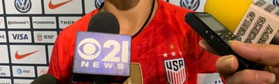 Post Match with USWNT Carli Lloyd After 4-0 Win Over Jamaica – 8/29/19