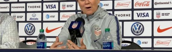 Post Match with USWNT Coach Jill Ellis After 4-0 Win Over Jamaica – 8/29/19