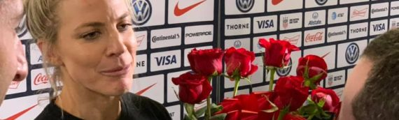 Post Match with USWNT Julie Ertz After 4-0 Win Over Jamaica – 8/29/19
