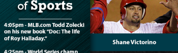 The Heart of Sports with Todd Zolecki, Shane Victorino & Charlie O'Connor – 5/29/20